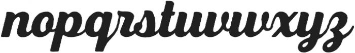 UT Triumph Vintage otf (400) Font LOWERCASE