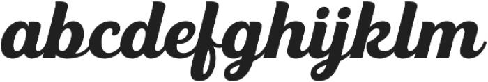 UT Triumph otf (400) Font LOWERCASE