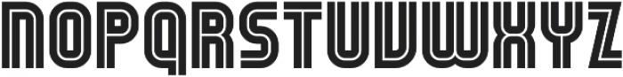 UTC Scout otf (400) Font LOWERCASE