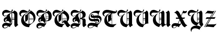 UTM Agin Font UPPERCASE