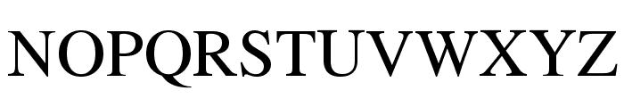 UTM Times Font UPPERCASE