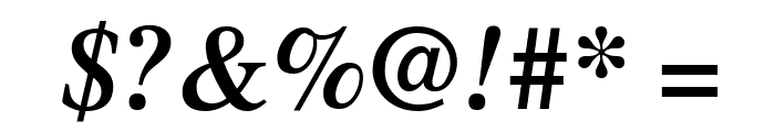 UTMTimesBold Italic Font OTHER CHARS