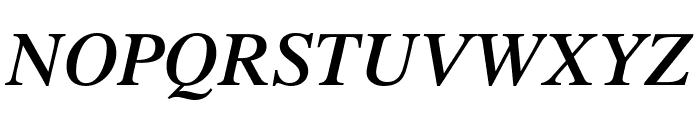 UTMTimesBold Italic Font UPPERCASE