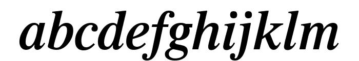 UTMTimesBold Italic Font LOWERCASE