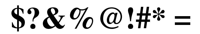 UTMTimesBold Font OTHER CHARS