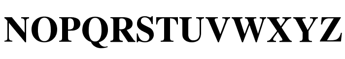 UTMTimesBold Font UPPERCASE