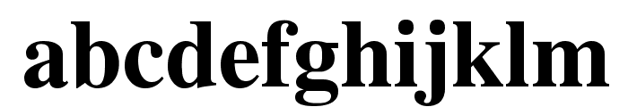 UTMTimesBold Font LOWERCASE