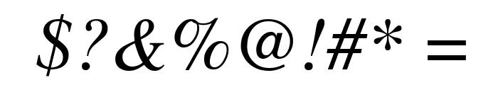 UTMTimesItalic Font OTHER CHARS