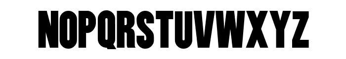 Utility BoldCondensed Font UPPERCASE