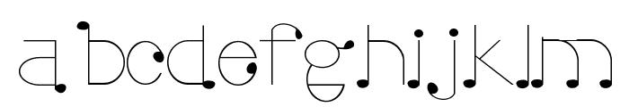 Uto Font LOWERCASE
