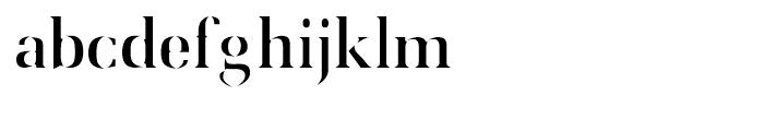Utile Caustic Font LOWERCASE