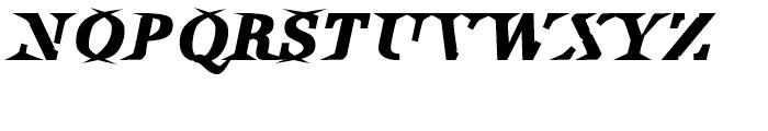 Utile Inky Italic Font UPPERCASE