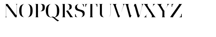 Utile Italic Font UPPERCASE