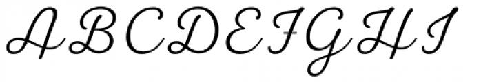 UT Laurelle Light Font UPPERCASE