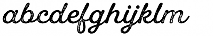 UT Laurelle Press Font LOWERCASE