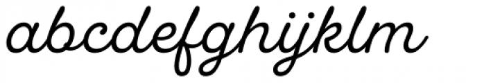UT Laurelle Regular Font LOWERCASE