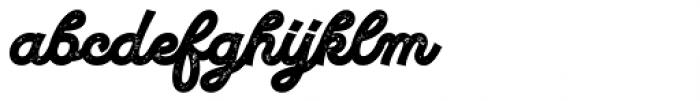UT Marmalade Printed Font LOWERCASE