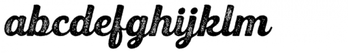 UT Triumph Press Font LOWERCASE