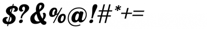 UT Triumph Regular Font OTHER CHARS