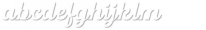 UT Triumph Shadow Font LOWERCASE