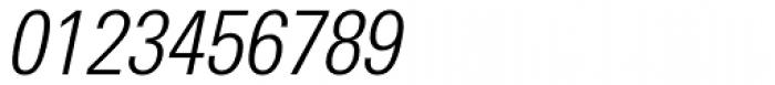 Utah WGL Condensed Light Italic Font OTHER CHARS