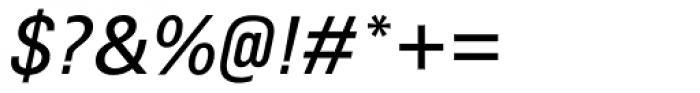 Utah WGL Italic Font OTHER CHARS