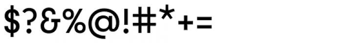Utily Sans Medium Font OTHER CHARS