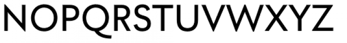 Utily Sans Medium Font UPPERCASE