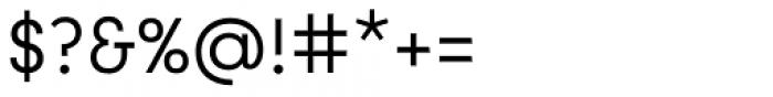 Utily Sans Regular Font OTHER CHARS