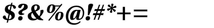 Utopia Bold Italic Font OTHER CHARS
