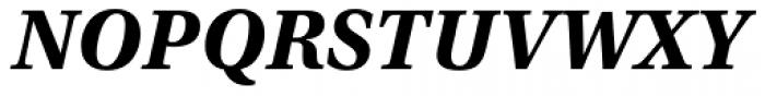 Utopia Caption Bold Italic Font UPPERCASE