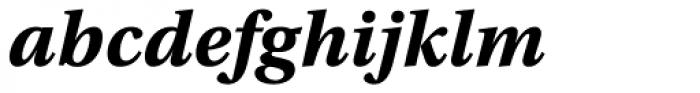 Utopia Caption Bold Italic Font LOWERCASE