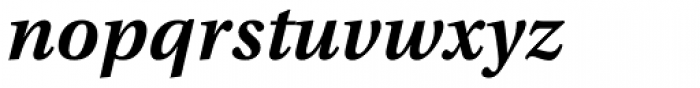 Utopia Caption SemiBold Italic Font LOWERCASE