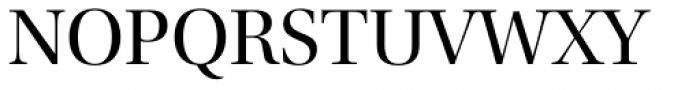 Utopia Display Regular Font UPPERCASE