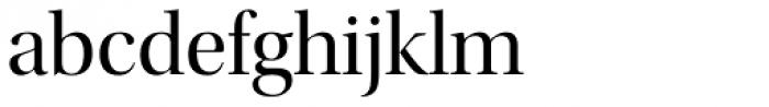 Utopia Display Regular Font LOWERCASE