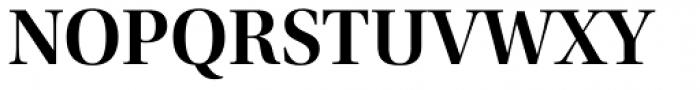 Utopia Display SemiBold Font UPPERCASE