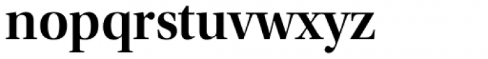 Utopia Display SemiBold Font LOWERCASE
