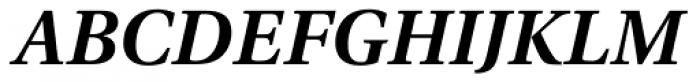 Utopia SemiBold Italic Font UPPERCASE