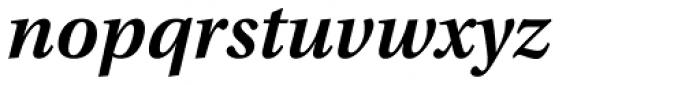 Utopia SemiBold Italic Font LOWERCASE
