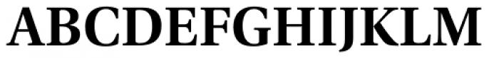 Utopia SemiBold Font UPPERCASE