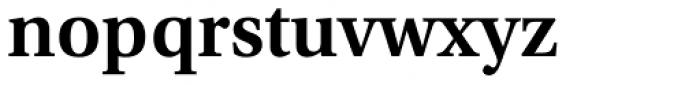 Utopia SemiBold Font LOWERCASE