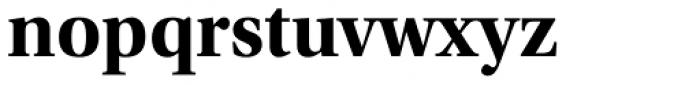 Utopia SubHead Bold Font LOWERCASE