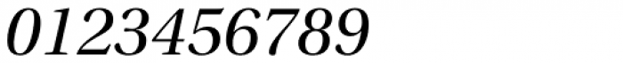 Utopia SubHead Italic Font OTHER CHARS