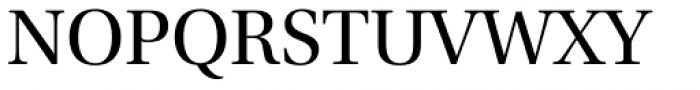 Utopia SubHead Regular Font UPPERCASE