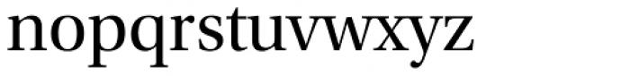 Utopia SubHead Regular Font LOWERCASE