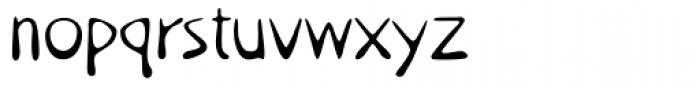 Utshani Font LOWERCASE