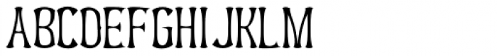 UUeirdie Cond Light Font UPPERCASE