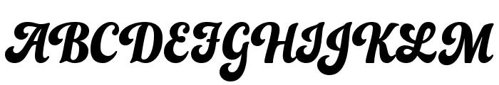 UVF Funkydori Font UPPERCASE