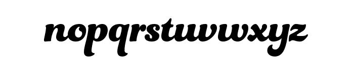 UVF Funkydori Font LOWERCASE