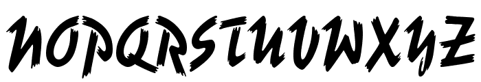 UVN But Long 2 Font UPPERCASE